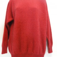 9936 Ladies plain crew neck jumper.