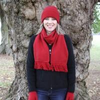 9905 Plain scarf.