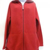 9831 Ladies striped collared jacket.