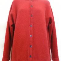 9937 Ladies plain button cardigan.